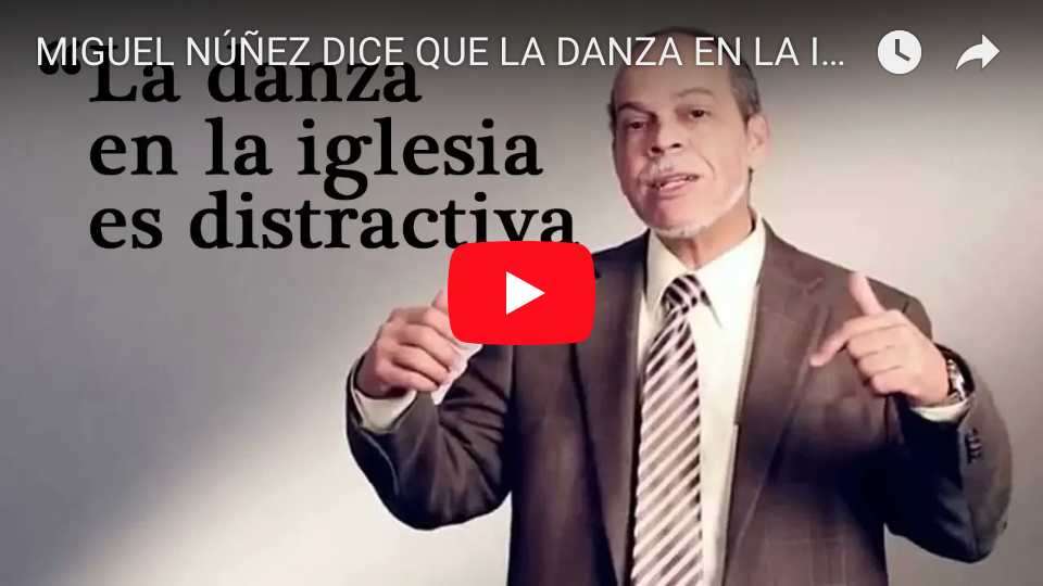 Miguel Núñez dice que la danza es distractiva video