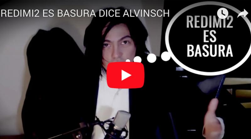 VIDEO - REDIMI2 ES BASURA DICE ALVINSCH
