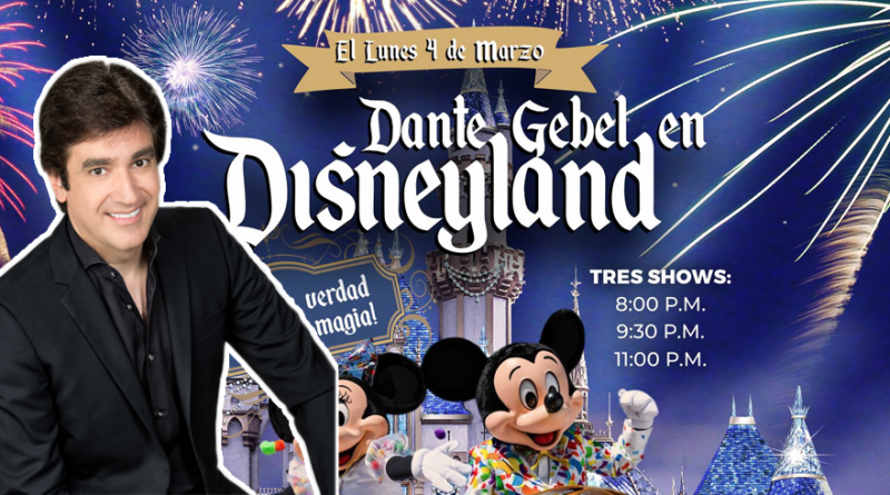 Dante Gebel en DisneyLand