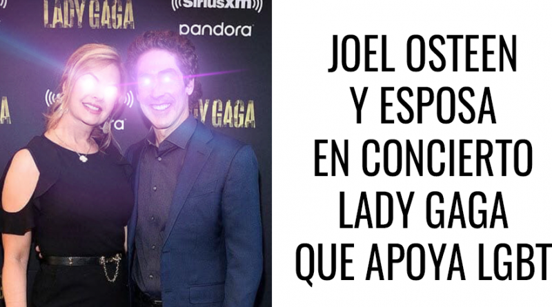 Joel Osteen y Lady Gaga en concierto que apoya comunidad LGBT